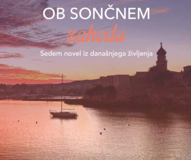 Ob sončnem zahodu-naslovnica
